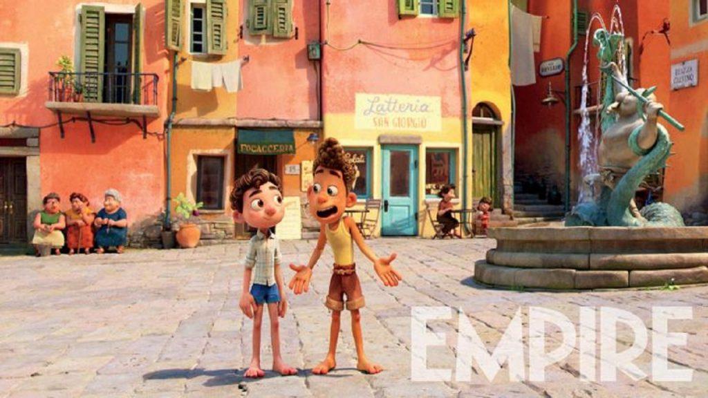 Luca trailer pixar disney