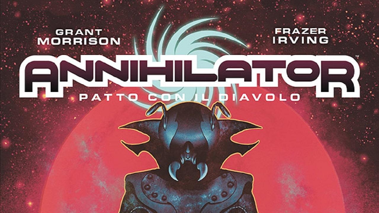 Annihilator - Patto con il Diavolo, il nuovo graphic novel di Grant Morrison thumbnail