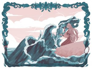 Illustrazione di Language of Thorns, spin-off dell'universo esteso di libri da cui è tratta Shadow and Bone