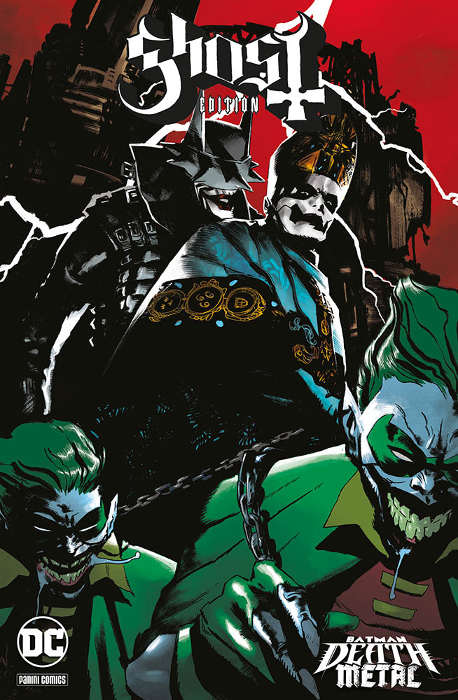 batman metal death Ghost