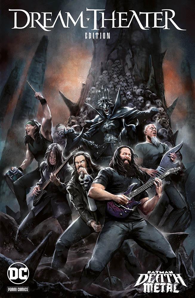 Dream Theater batman metal