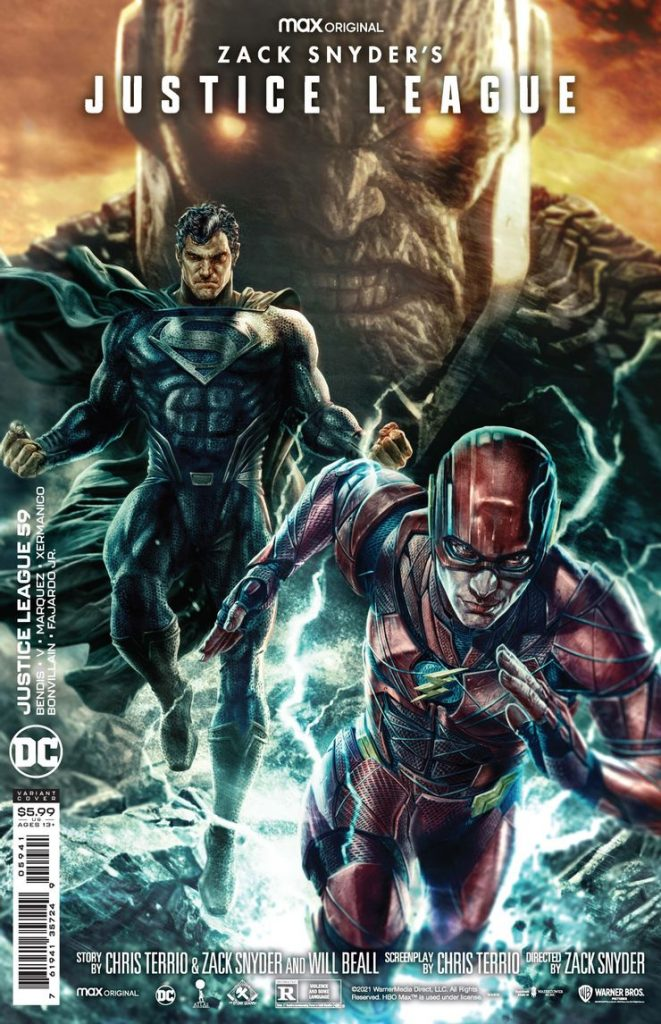 Snyder Cut Variant Cover Justice League 59
