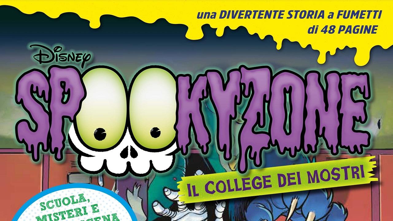 Arriva in edicola Spookyzone il nuovo magazine con Qui, Quo e Qua detective del brivido thumbnail