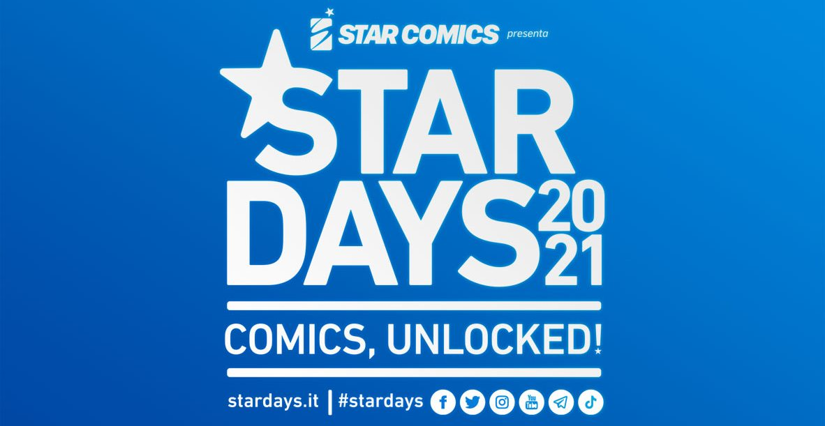 In arrivo gli Star Days 2021, l'attesissimo evento Star Comics thumbnail