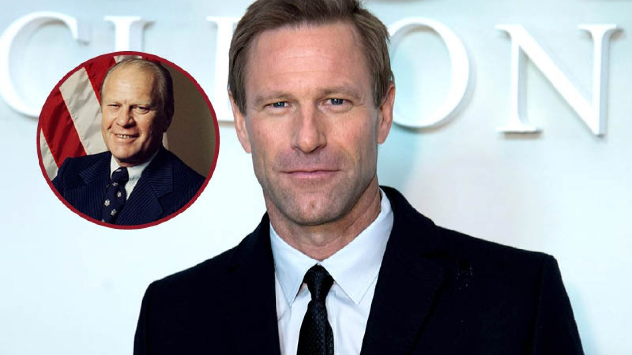 Aaron Eckhart sarà Gerald Ford nella serie The First Lady thumbnail