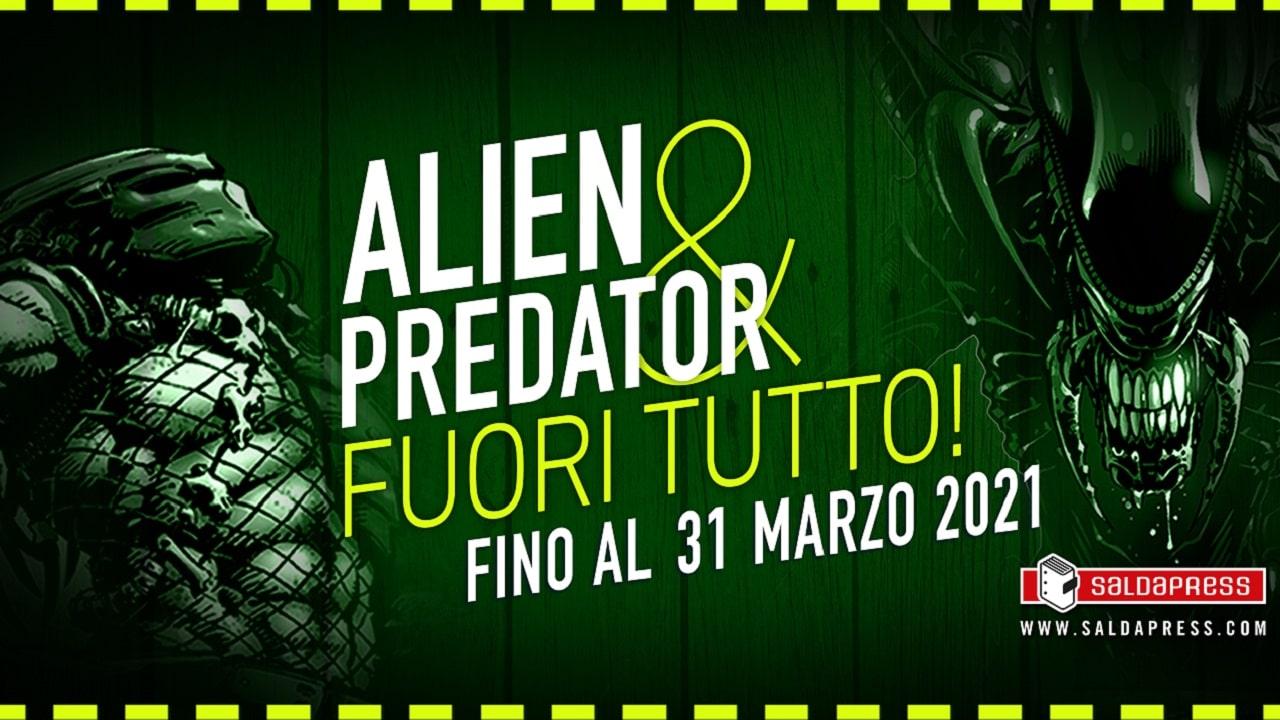 Alien & Predator, fuori tutto sui fumetti editi da saldaPress thumbnail