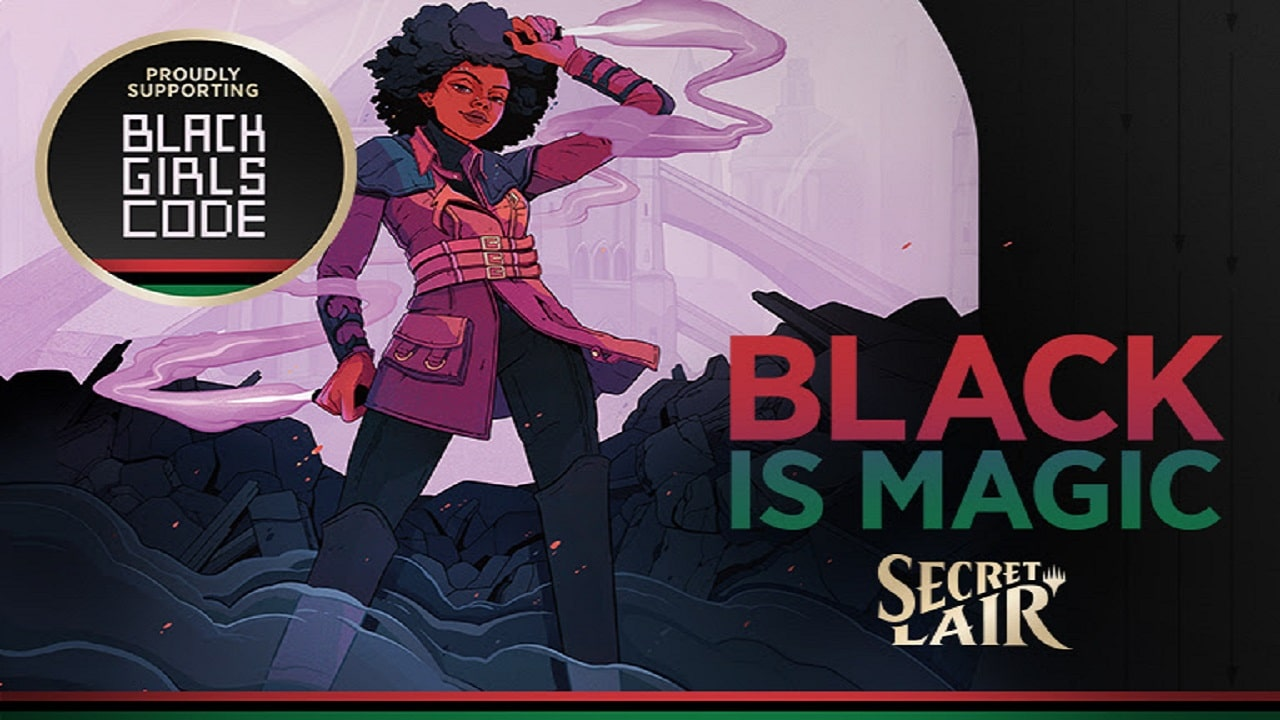 7 nuove carte Magic a sostegno di Black Girls Code thumbnail
