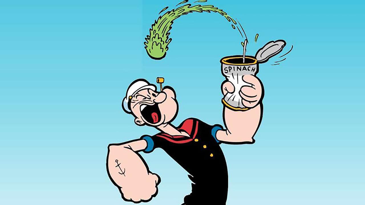 Popeye: una leggenda in grado di regalare fama agli spinaci thumbnail