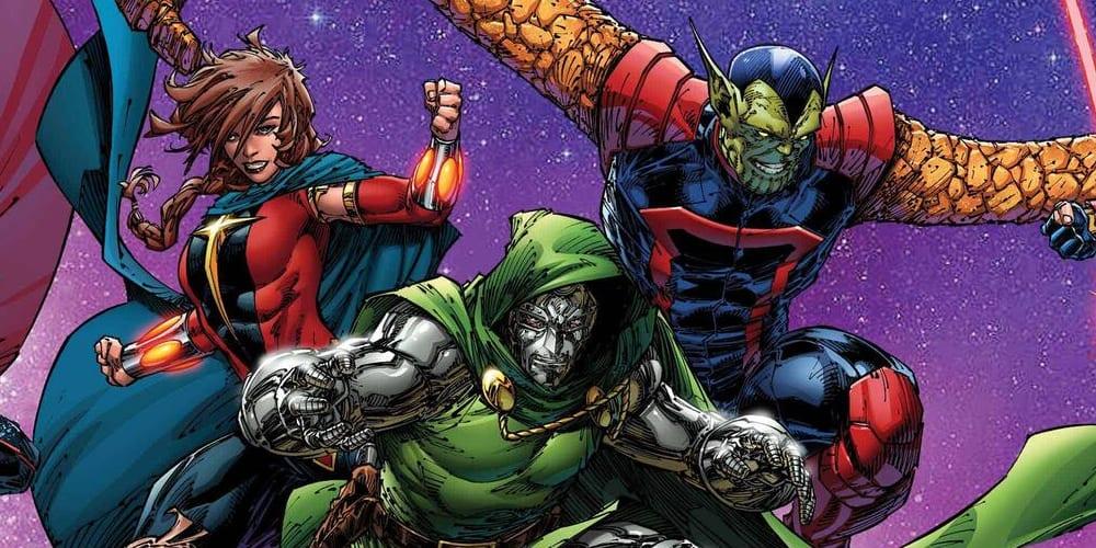 Doctor Doom si unisce ai Guardiani della Galassia thumbnail