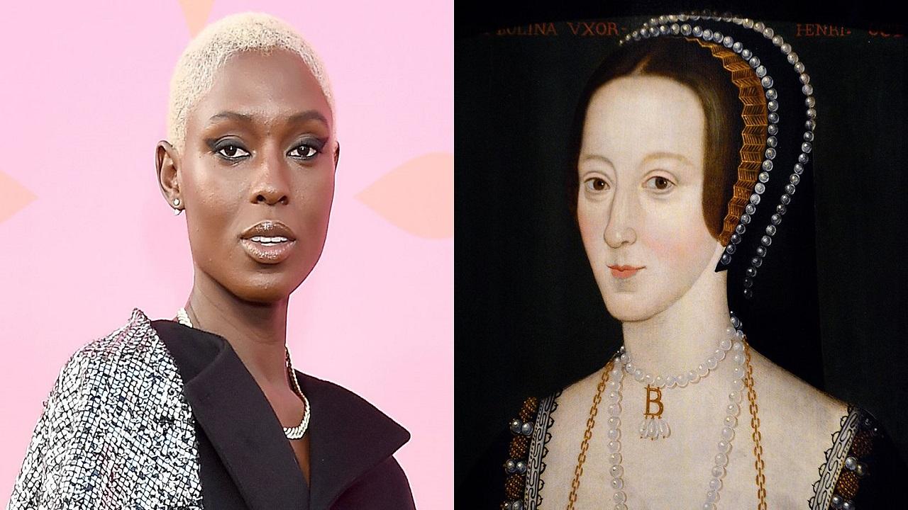 Anne Boleyn: prima foto della protagonista Jodie Turner-Smith thumbnail