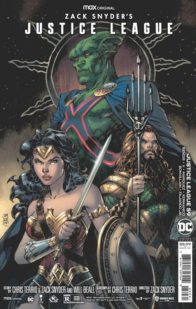 Manhunter Bw Snyder Cut Variant Cover Justice League 59