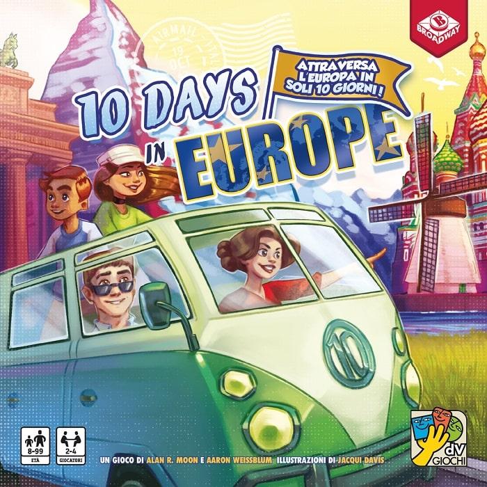 10 Days Europe giochi dv