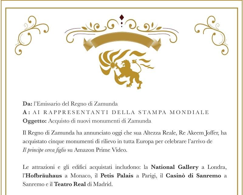 Annuncio dall'Emissario del Regno di zamunda-min