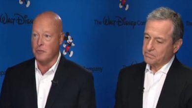 Disney CEO Bob Chapek Bob Iger