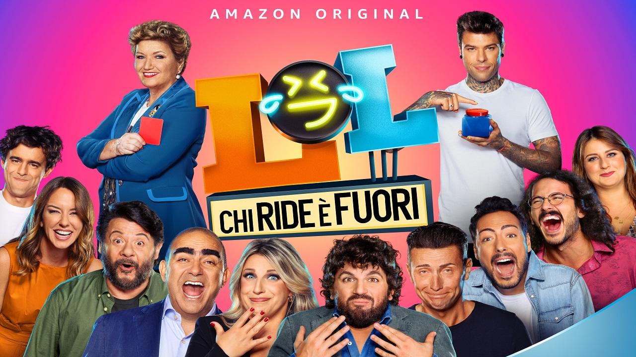 Pubblicato il teaser trailer di LOL: Chi ride è fuori, lo show comico italiano thumbnail