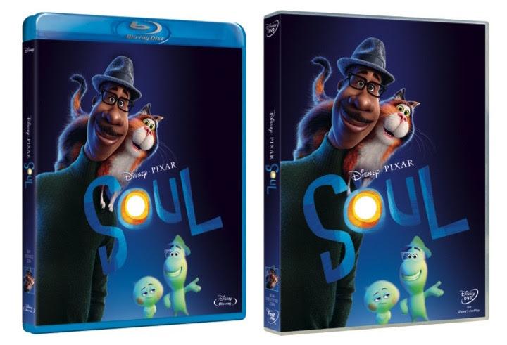 DVD e Blu-Ray Soul