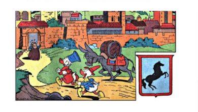Topolino celebra Dante Alighieri con il numero 3409