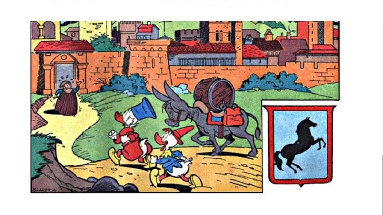 Topolino celebra Dante Alighieri con il numero 3409 thumbnail