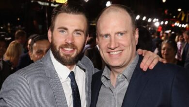 Captain America Chris Evans Kevin Feige