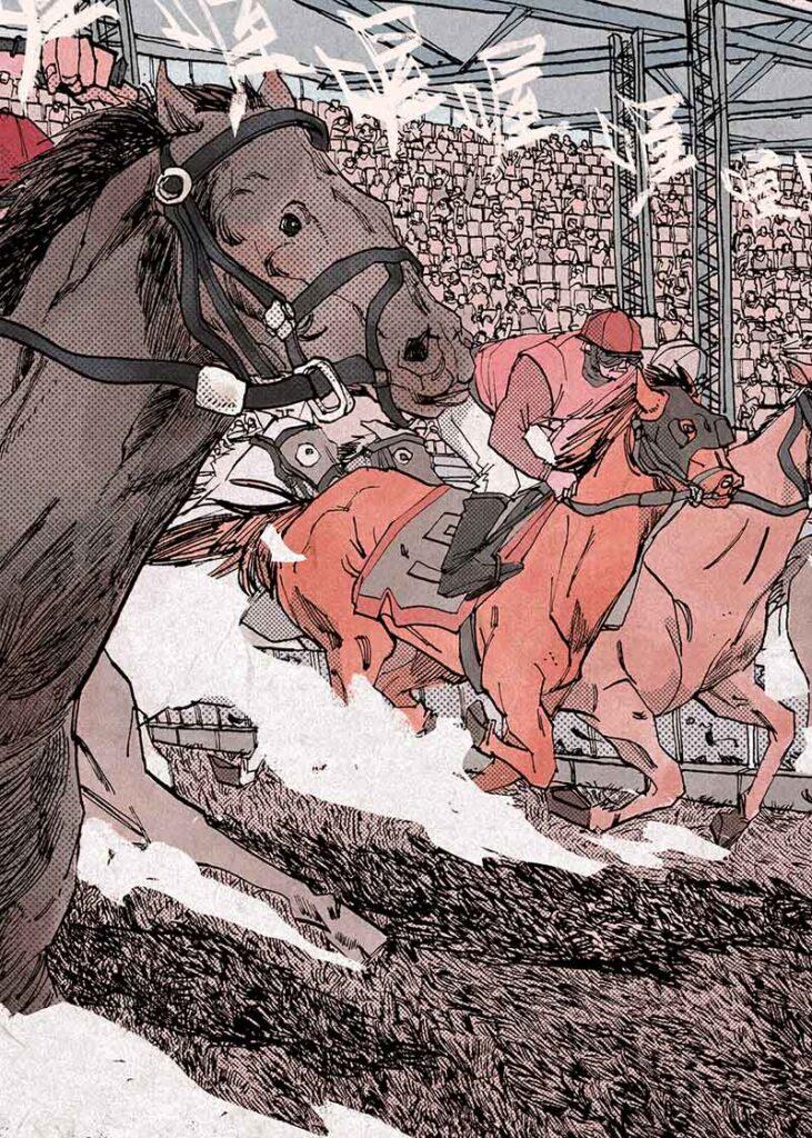 cavalli disegno yi yang