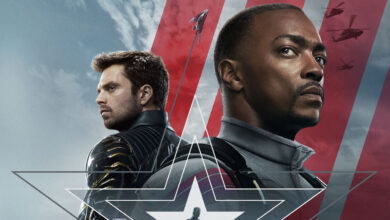 poster di the falcon and the winter soldier recensione