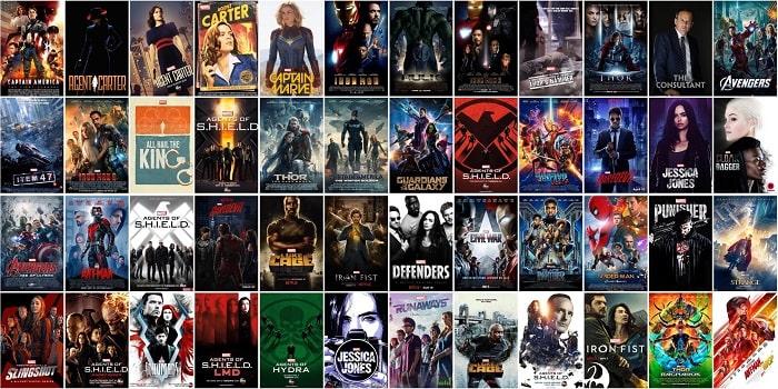 film e serie tv marvel ordine