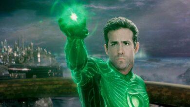 Lanterna Verde Ryan Reynolds