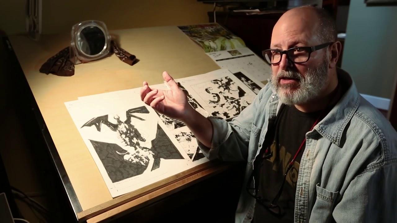 Il documentario su Mike Mignola sfonda l'obiettivo su Kickstarter thumbnail