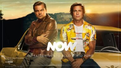now streaming once upon a time in hollywood