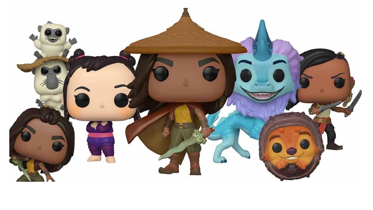 Arrivano i Funko Pop! di Raya e l'Ultimo Drago, insieme a tanti gadget Disney thumbnail