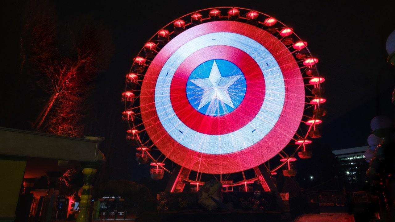 Lo scudo di Capitan America attera a Roma thumbnail