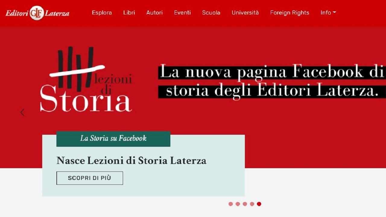 Laterza lancia il nuovo sito web, ricco di approfondimenti gratuiti thumbnail