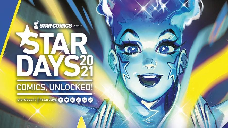 Star Days 2021, la locandina ufficiale disegnata da Mirka Andolfo thumbnail