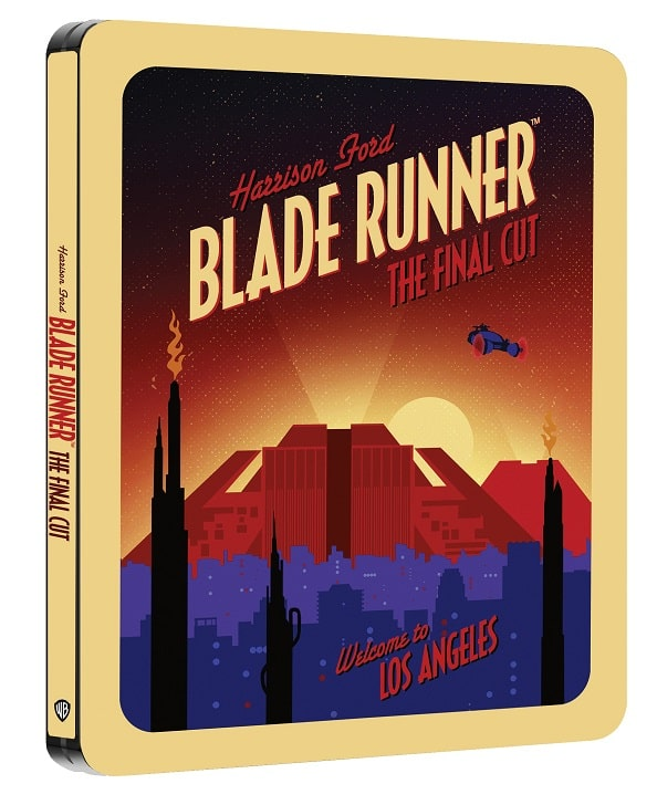 BLADE RUNNER THE FINAL CUT - Dal 6 maggio in Steelbook 4K