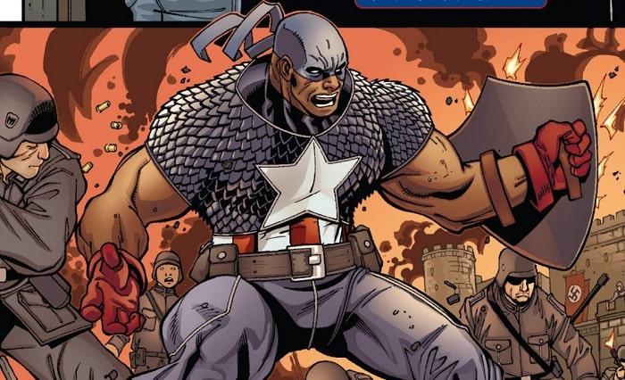 Isaiah_Bradley_Earth-616 scudo capitan america