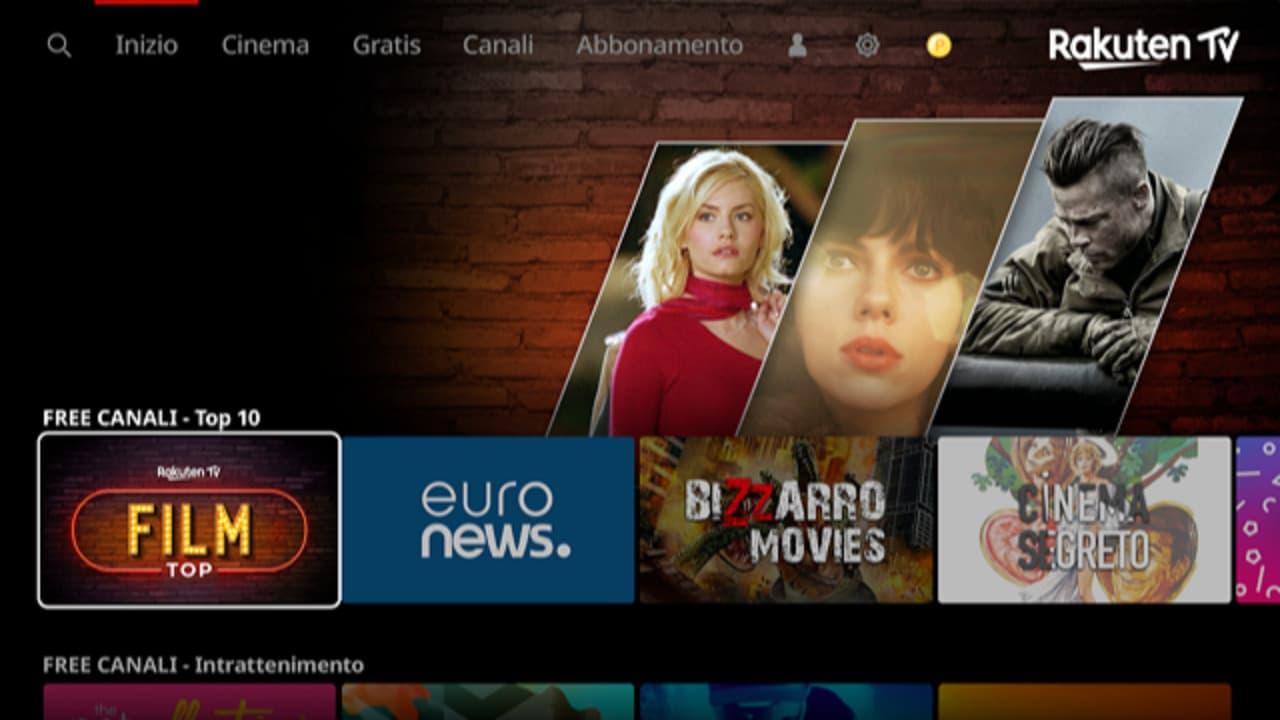 Rakuten TV lancia più di 90 canali lineari gratuiti in Europa thumbnail