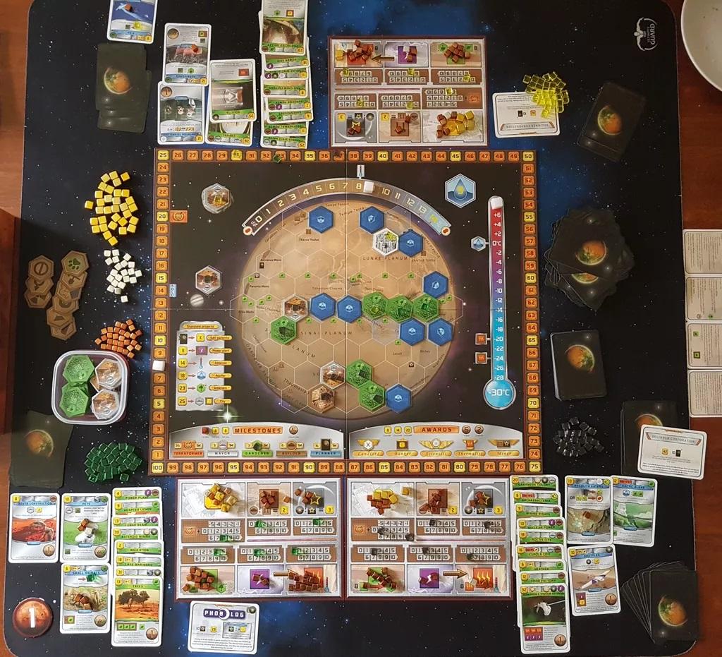 giochi tavolo Marte
