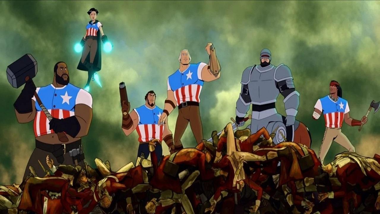 America: The Motion Picture, prima immagine e cast della commedia sui padri fondatori USA thumbnail
