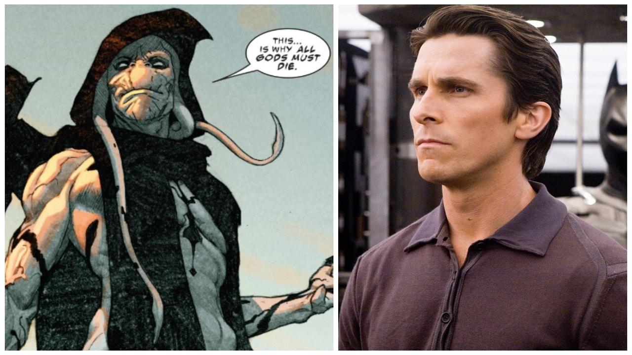 Christian Bale rasato a zero per Thor: Love and Thunder nelle foto dal set thumbnail