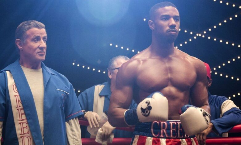 Creed 3 Rocky Stallone