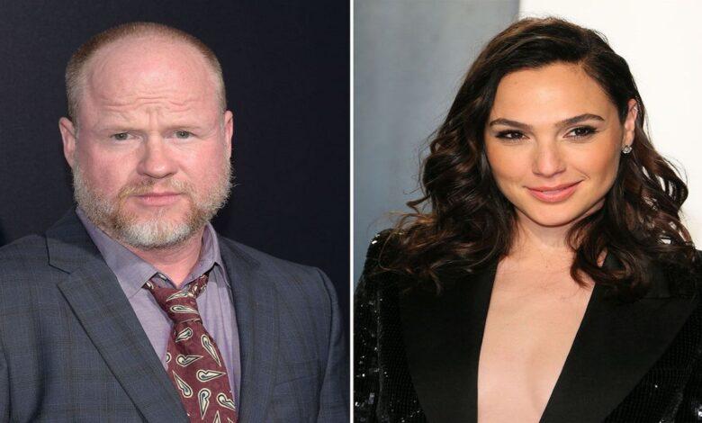 Gal Gadot Joss Whedon Justice League
