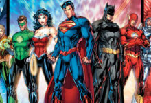 justice league batman superman wonder woman flash aquaman