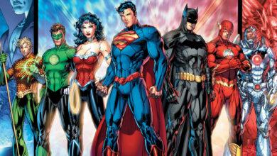 justice league batman superman wonder woman flash aquaman