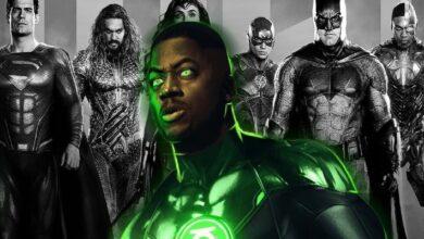 Justice League Zack Snyder Lanterna Verde
