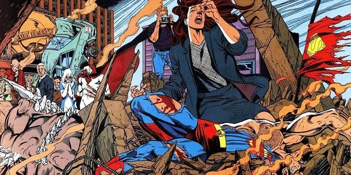 morte di superman fumetti film inediti mai vedremo