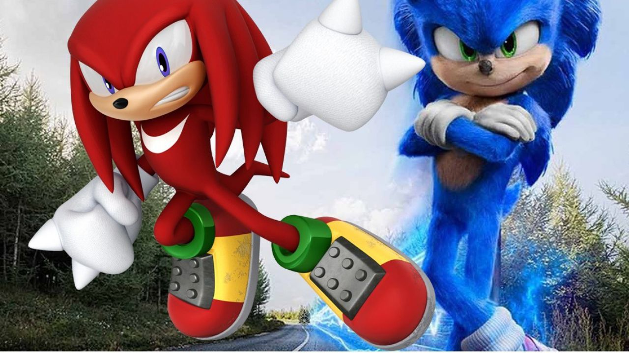 Sonic 2: una foto dal set conferma la presenza di Knuckles thumbnail