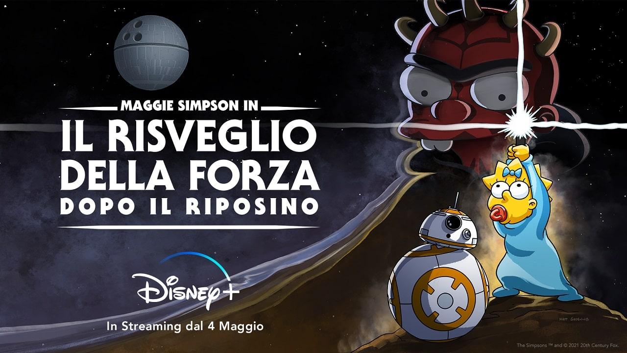 Dai cloni a Maggie Simpson: ecco come Disney+ celebra lo Star Wars Day thumbnail