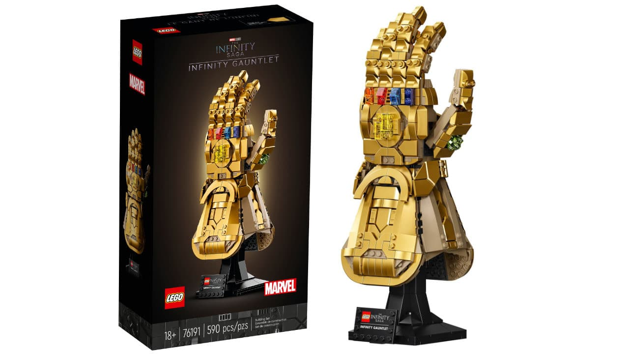Guanto dell'Infinito LEGO Marvel - Il set 76191 è in arrivo ! thumbnail