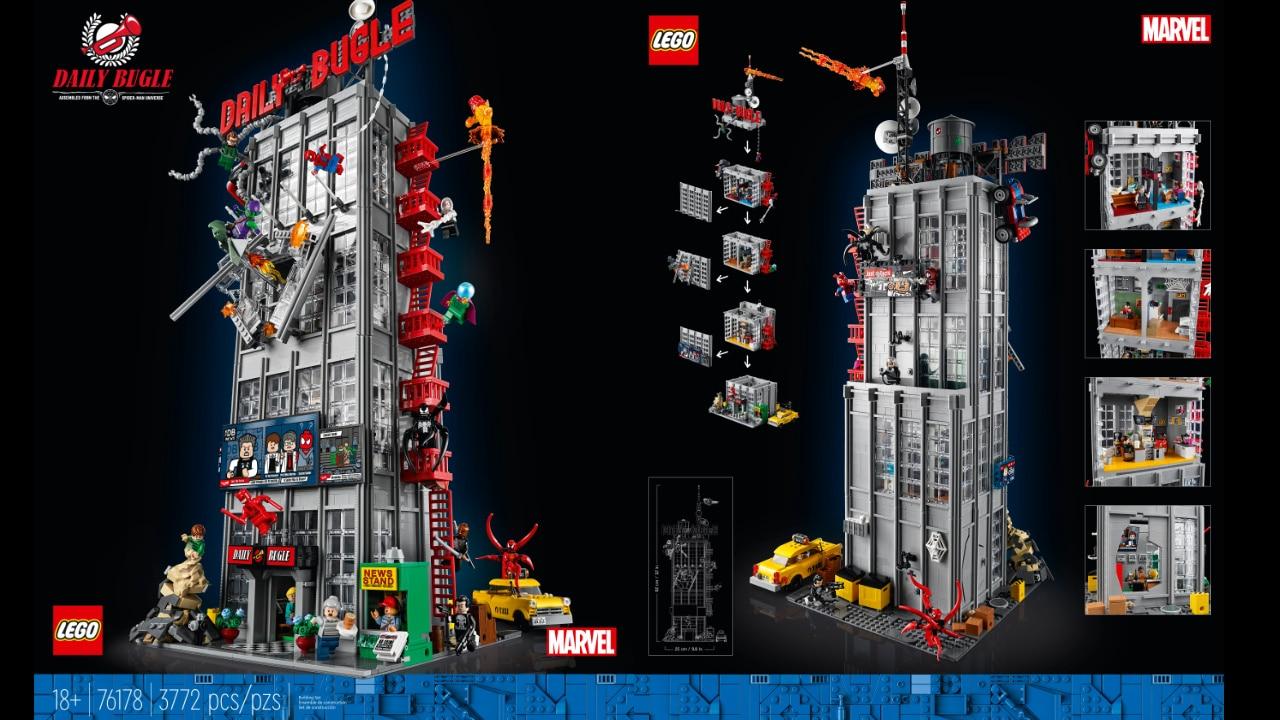 LEGO Daily Bugle di Spider-Man: annunciato ufficialmente il nuovo set Marvel thumbnail