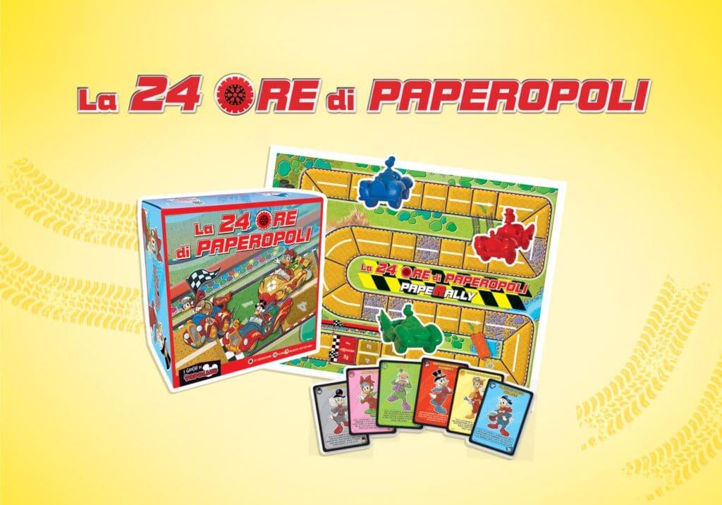 La 24 ore di Paperopoli. Il gioco da tavolo.